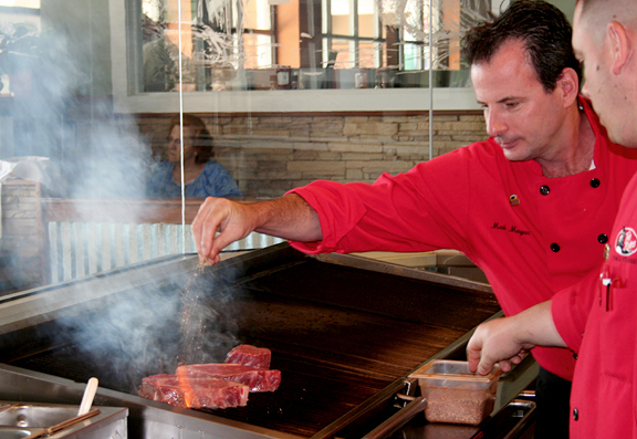 Chef Mark Morgan, Two Rivers Steak & Fish House