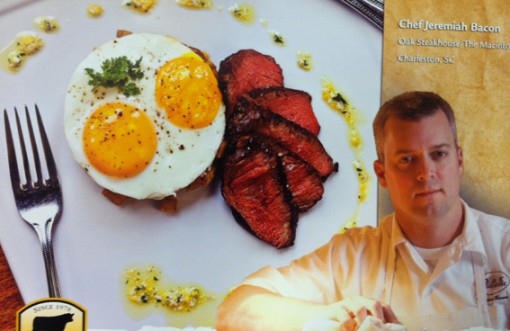 Chef Jeremiah Bacon of Oak Steakhouse