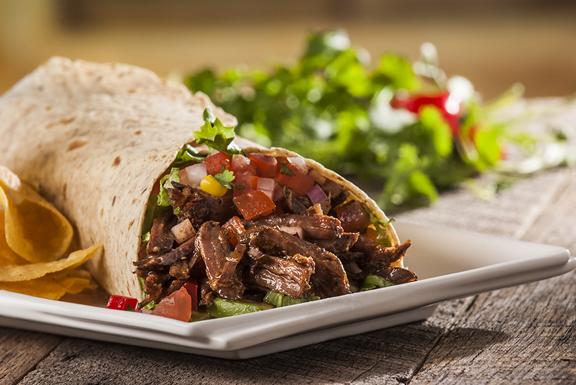 Beef tortilla