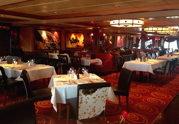 Cagney's aboard Norwegian Cruise Line