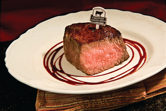 Top Sirloin with Balsamic Reduction Sauce