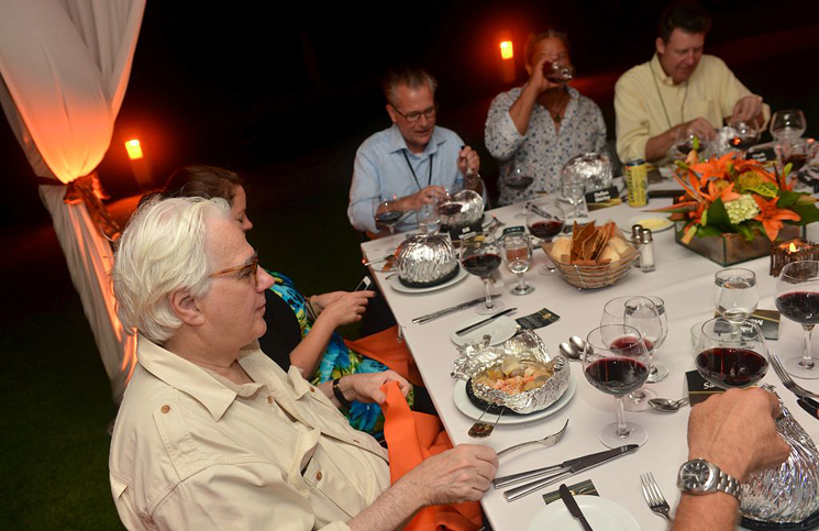 Media dinner at Marco Island, Fla.
