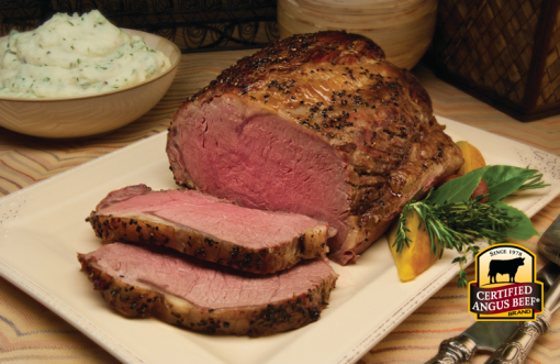 Prime Rib with Vegetable Gravy