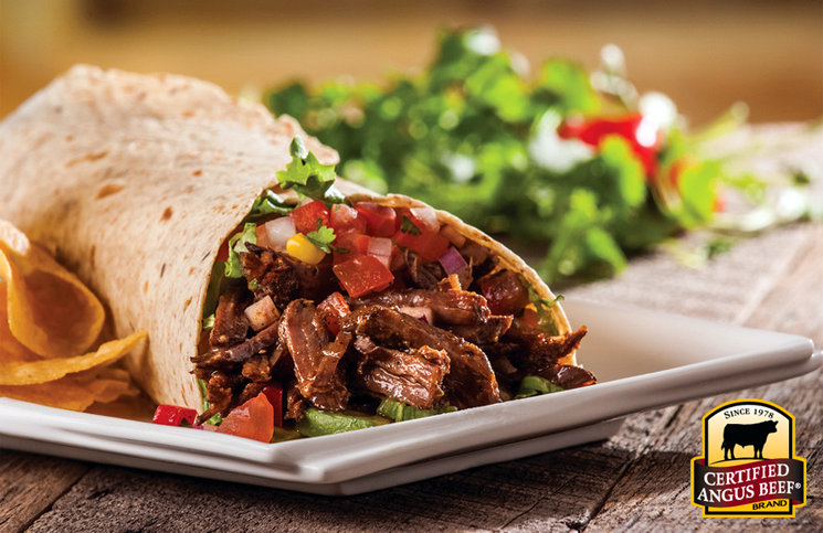 Slow cooker barbacoa burritos