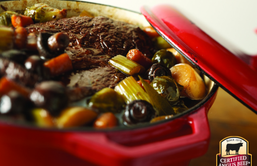 Pot Roast with winter's best vegetables.