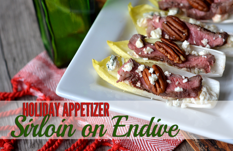 Simple & Sophisticated Sirloin On Endive