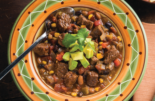Southwestern Beef and Bean Stew
