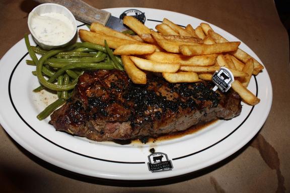 Certified Angus Beef steak on plate