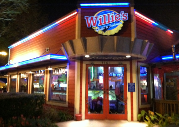 Willie's Grill & Icehouse in Texas