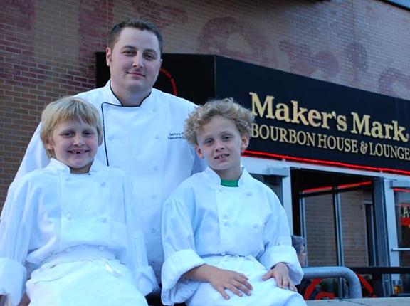 Chef Zac Alft of Maker's Mark