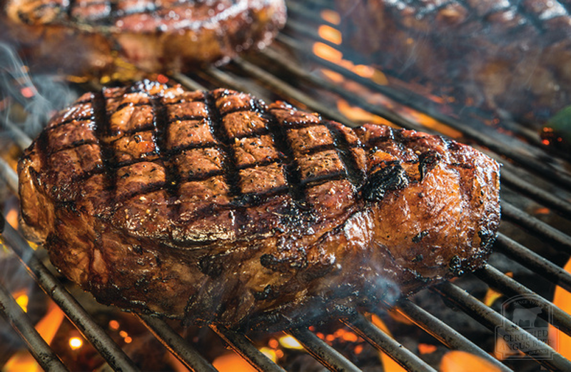 Grilled Ribeye - one nation divided over grilling: charcoal or propane?