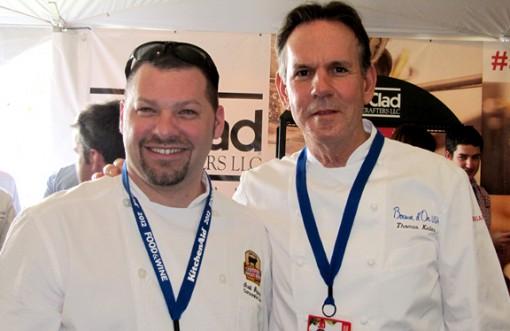 Chef Scott Popovic and Chef Thomas Keller