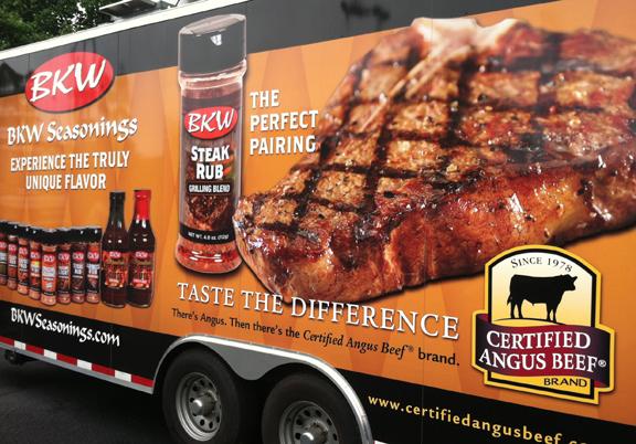 Certified Angus Beef brand and BKW Seasonings