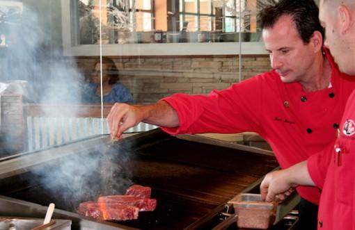 Chef Mark Morgan, Two Rivers Steak & Fish House