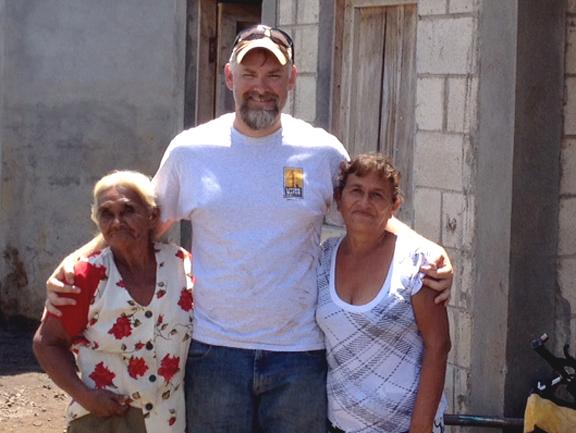 Ric Rosser in Guatemala