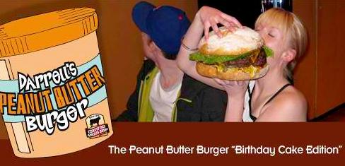 Darrell's Peanut Butter Burger