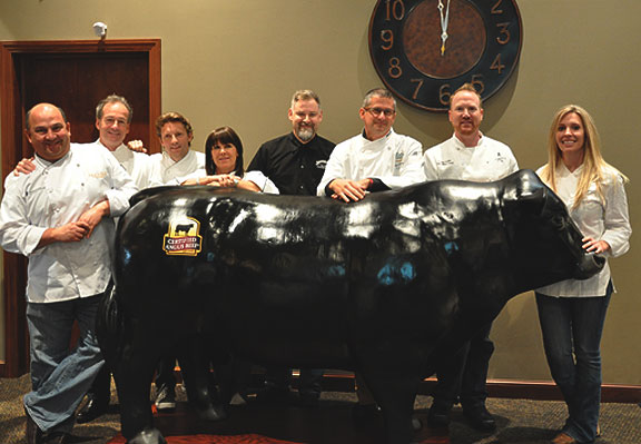 Chef Trends Panelists at Certified Angus Beef