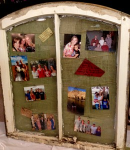 Pinterest window frame project