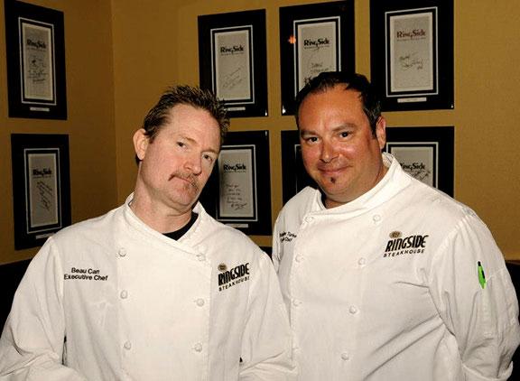 Ringside Steakhouse chefs