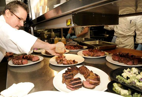 Ringside steaks