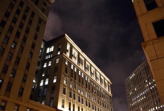 Cleveland night lights