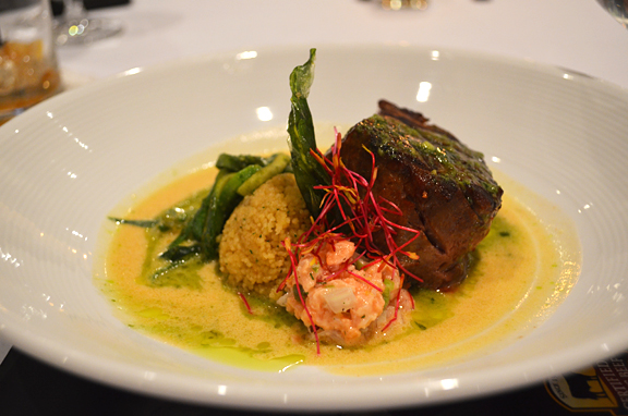 Chef Rory Schepisi's dish - photo by Jennifer Kiko