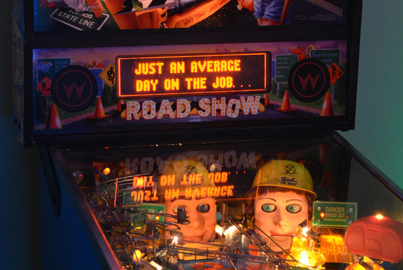 Road Show pinball game