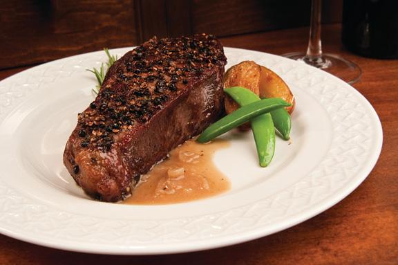 Strip-Steak-Au-Poivre