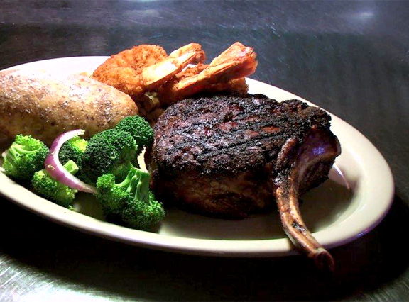 Peacock Alley Cowboy Steak - Bismarck, N.D.