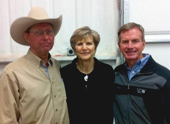 Steve & Ginger Olson with Edd Hendee