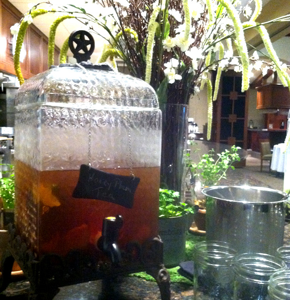 iced tea with plum and thyme pdf