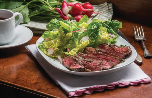 Spring Salad with beef