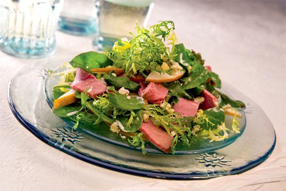 Roast Beef on Salad