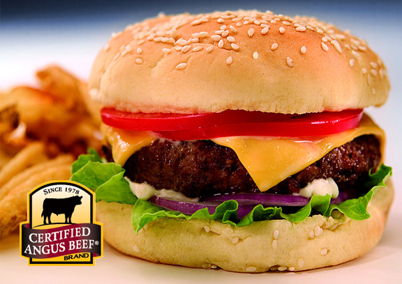 Classic Burger Certified Angus Beef burger