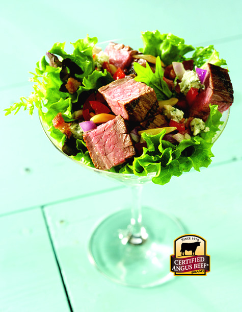 Steak Salad Martini