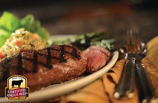 grill marks on steak
