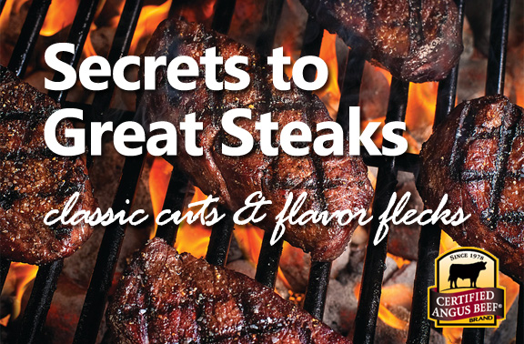 Steak Secrets: classic cuts and flavor flecks