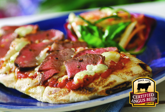 Sirloin Grilled Pizza