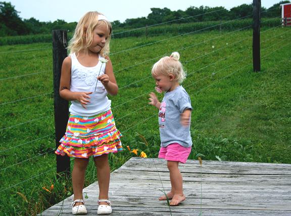little farm girls