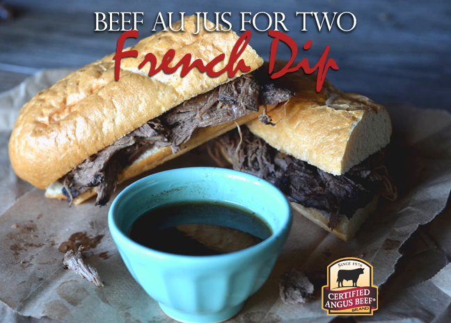 Beef Au Jus for Two - Go Rare Blog