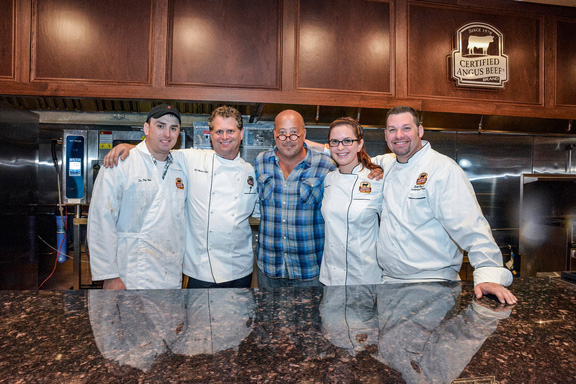 Andrew Zimmern, host of Bizarre Foods America and the Certified Angus Beef® brand culinary team