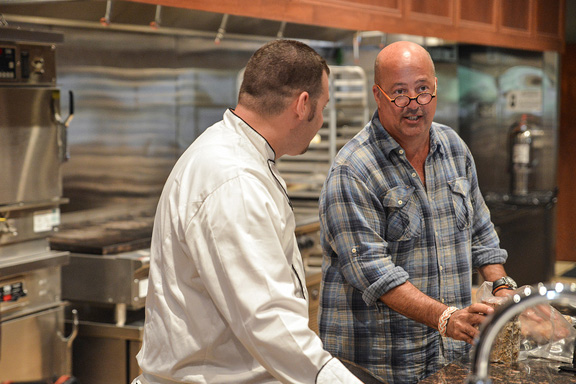 Andrew Zimmern at the Certified Angus Beef ® Education & Culinary Center