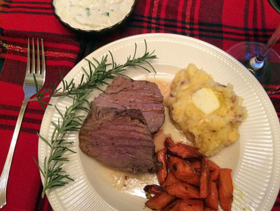 Tenderloin Roast with Horseradish Sauce