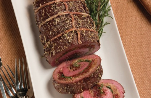 Flank Steak Roulade - 12 roasts of Christmas