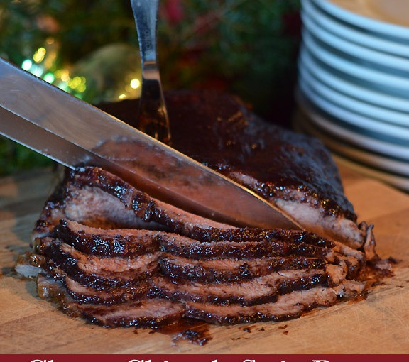 Sweet Cherry & Chipotle Strip Roast