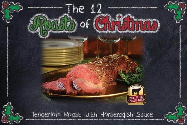 Tenderloin Roast with Horseradish Sauce