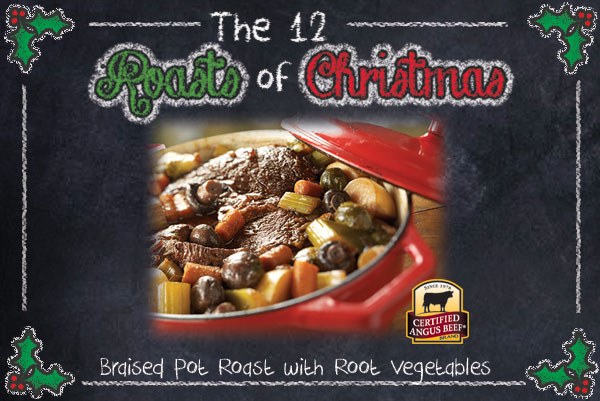 Braised Pot Roast with Root Vegetables