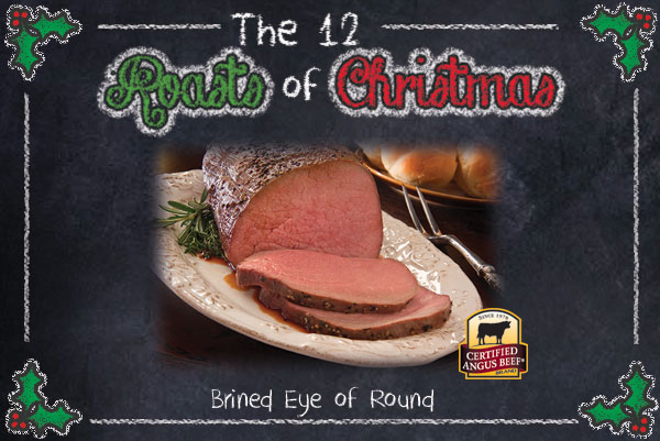 Brined Eye of Round Roast