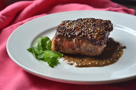 Certified Angus Beef Steak Au Poivre