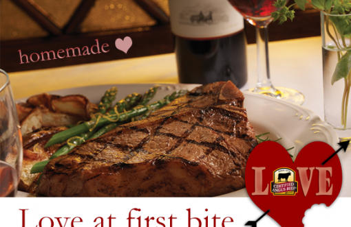 Porterhouse for Two with Potatoes & Asparagus